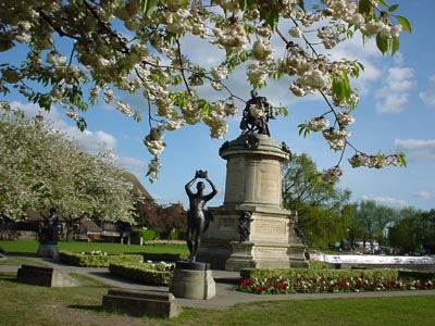 The Gower Memorial, Bancroft Gardens