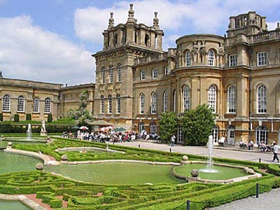 Blenheim Palace in Woodstock