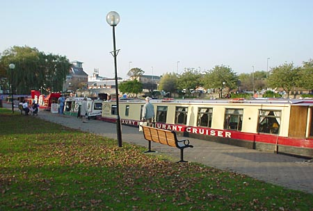 Canal Boats in the Stratford Canal Basin
