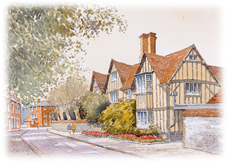 Hall's Croft - Stratford-upon-Avon