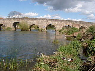 The Bridge over the River Avon in Bidford-on-Avon