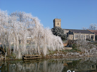 Frosty Willow nearby at the River Avon