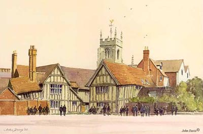 William Shakespeare's School in Stratford-upon-Avon