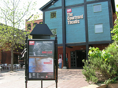 The RSC Courtyard Theatre - Waterside, Stratford-upon-Avon