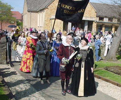 William Shakespeare Parade