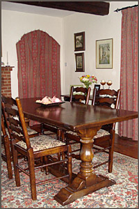 The Dining Room at The Apothecary's B&B, Wellesbourne