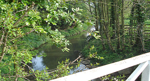 Walk along the River Dene at Wellesbourne